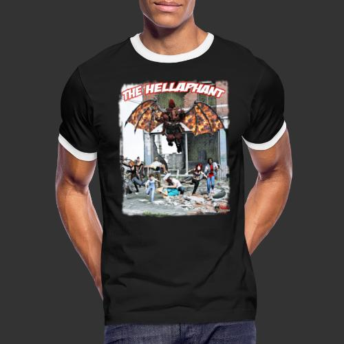 The Hellaphant Alternate Concept: Re-Issue - Men's Ringer T-Shirt
