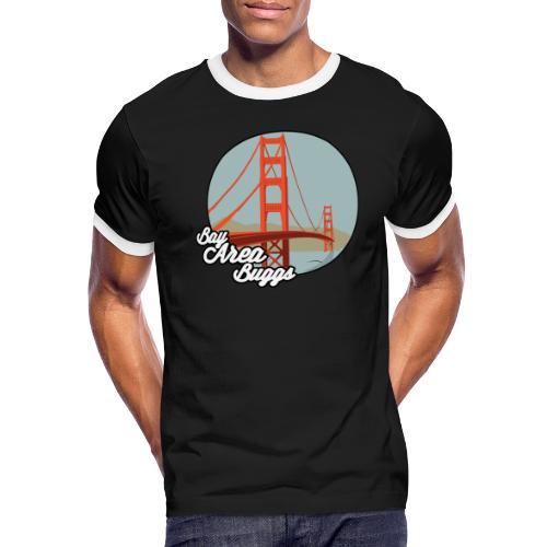 Bay Area Buggs Bridge Design - Men's Ringer T-Shirt
