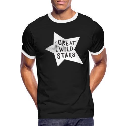 GWS: Classic Logo, Black and White - Men's Ringer T-Shirt