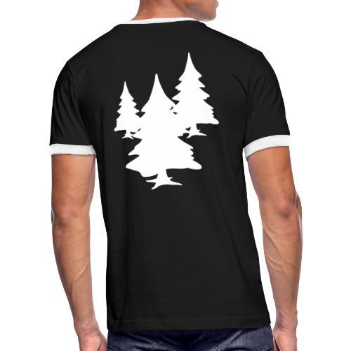 Tree Multicolour - Men's Ringer T-Shirt