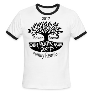 Baker Brown Family Reunion - Men's Ringer T-Shirt