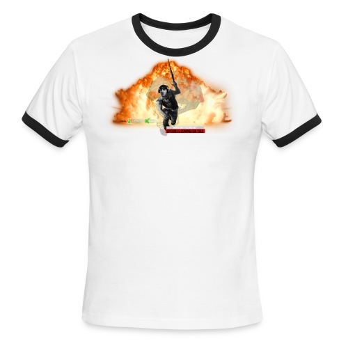 CptFive - Squad OUT - Men's Ringer T-Shirt