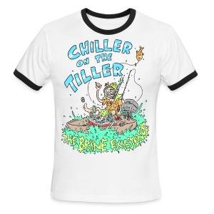 Chiller On the Tiller - Men's Ringer T-Shirt