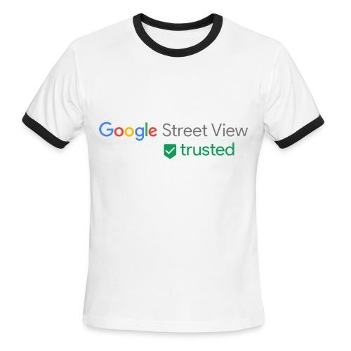 Google Street View Trusted Photographer - Men's Ringer T-Shirt