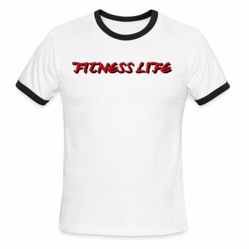 FITNESS LIFE - Men's Ringer T-Shirt