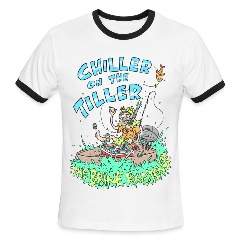 Chiller On the Tiller - Men's Ringer T-Shirt