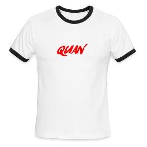 Quan - Men's Ringer T-Shirt