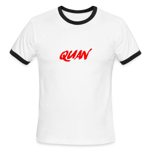 Quan - Men's Ringer T-Shirt