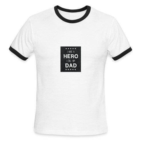 best dad quotes best dad sayings images free stock - Men's Ringer T-Shirt