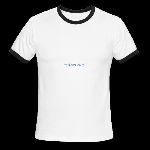 1TeamHealth Simple - Men's Ringer T-Shirt