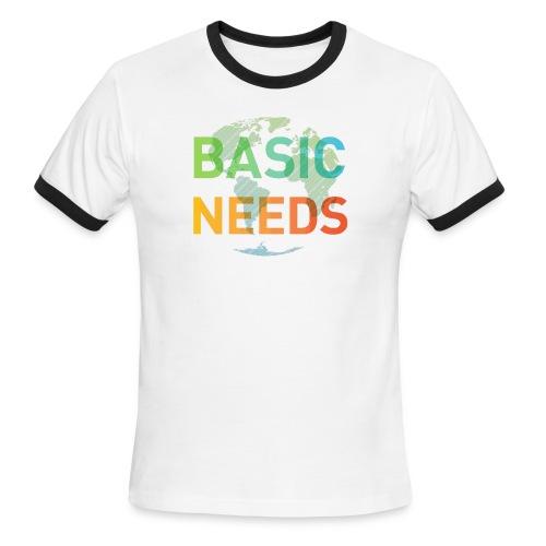 Basic needs - Men's Ringer T-Shirt