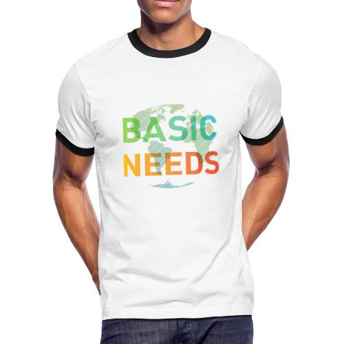 Basic needs - Men's Ringer T-Shirt