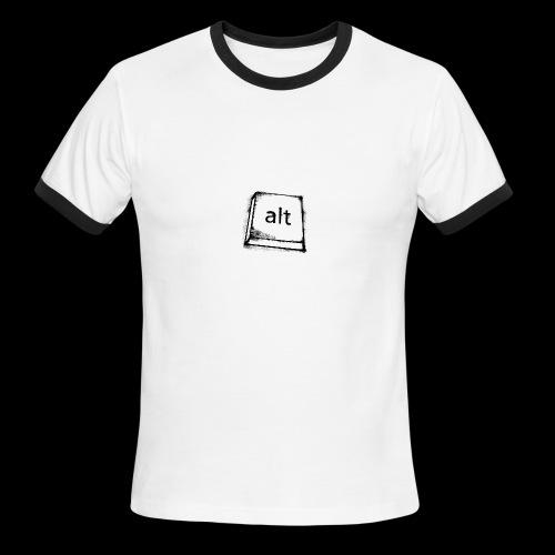 Logo Key - Men's Ringer T-Shirt