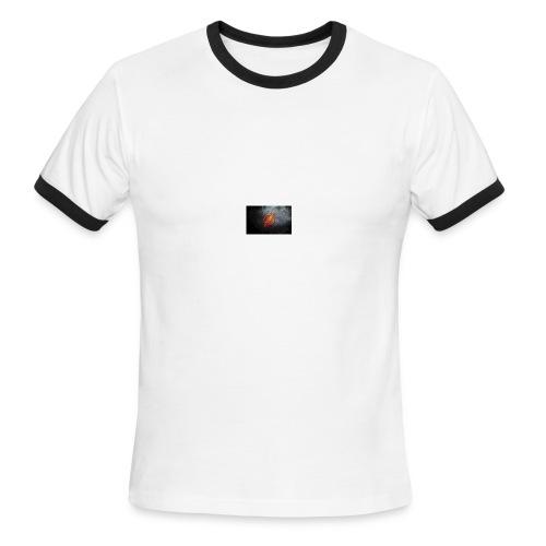 Flash Logo - Men's Ringer T-Shirt
