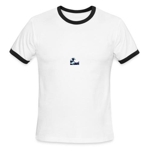 Wave - Men's Ringer T-Shirt