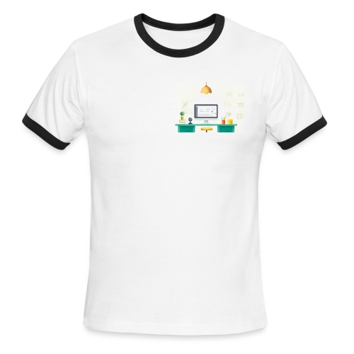 workspace - Men's Ringer T-Shirt