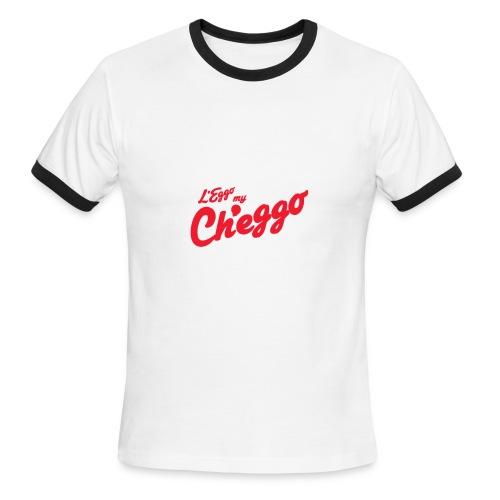 L'Eggo my Ch'eggo TShirt *LIMITED TIME ONLY* - Men's Ringer T-Shirt