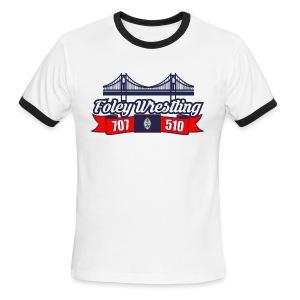 Foley Wrestling - Men's Ringer T-Shirt