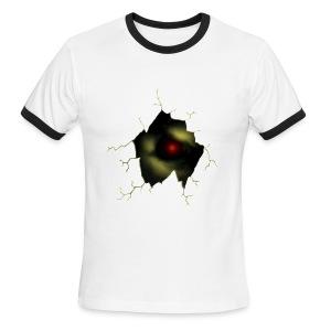 Broken Egg Dragon Eye - Men's Ringer T-Shirt
