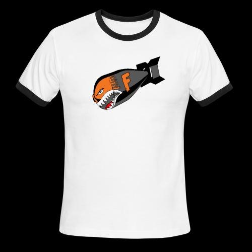 F Bomb - Men's Ringer T-Shirt