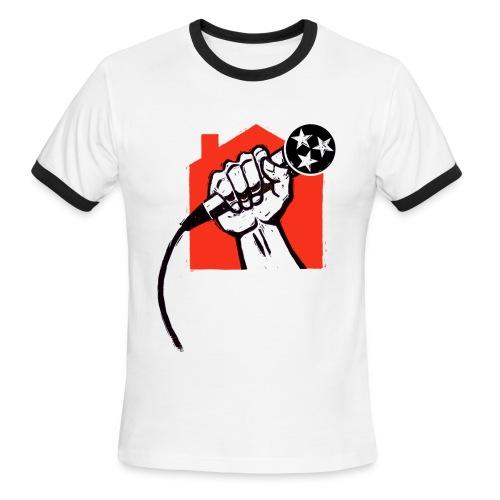 Save Home Studios In Music City - Men's Ringer T-Shirt