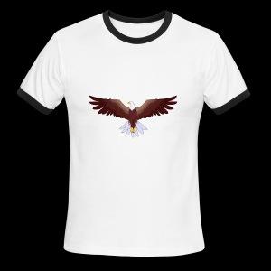 Eagle Logo - Men's Ringer T-Shirt