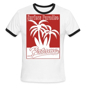 Patame Surfers Paradise Red - Men's Ringer T-Shirt