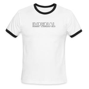 Plain Imperial Logo - Men's Ringer T-Shirt