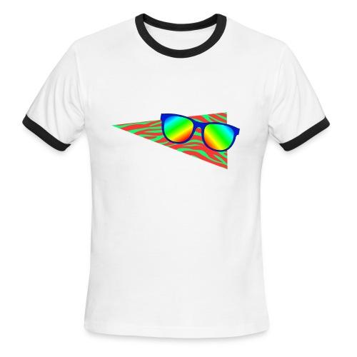 Sunglasses 002 - Men's Ringer T-Shirt