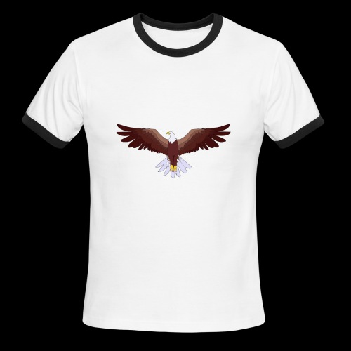 Eagle Logo - Men's Ringer T-Shirt