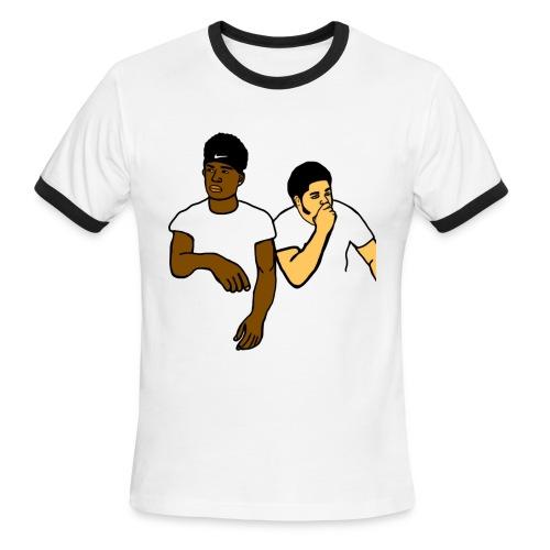 HOTHEADSIM x ARMANIRICH - Men's Ringer T-Shirt