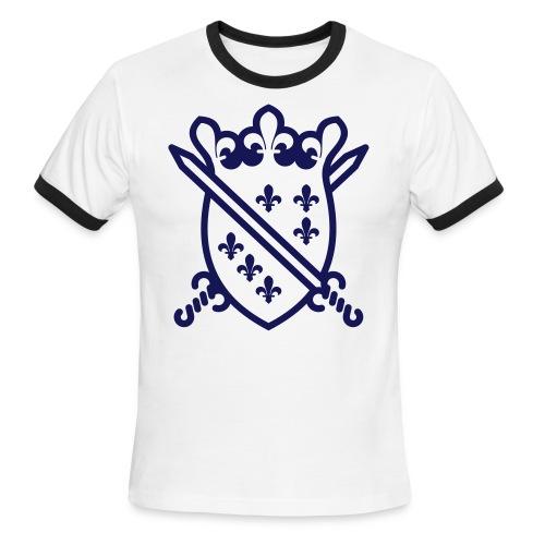 The Dragon Of Bosnia - Štit sa mačevima - Men's Ringer T-Shirt
