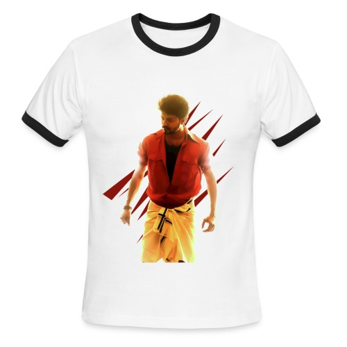 Mersal Printed T Shirt - Men's Ringer T-Shirt