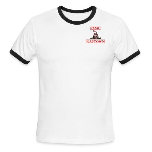 shirt front1 - Men's Ringer T-Shirt