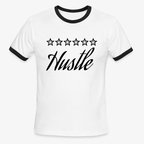 hustle with stars - Men's Ringer T-Shirt