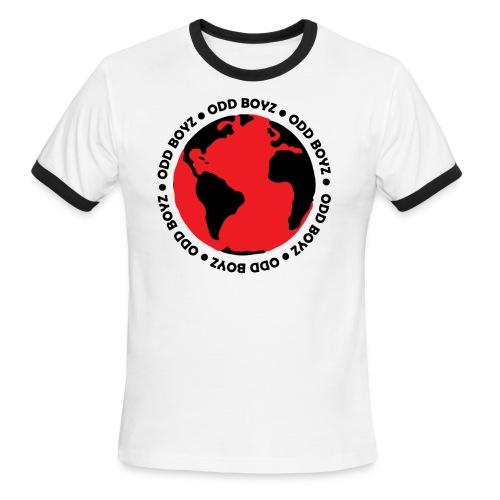 Odd Boyz World - Men's Ringer T-Shirt
