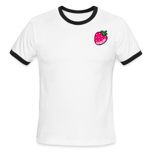 Cosberry Logo - Men's Ringer T-Shirt