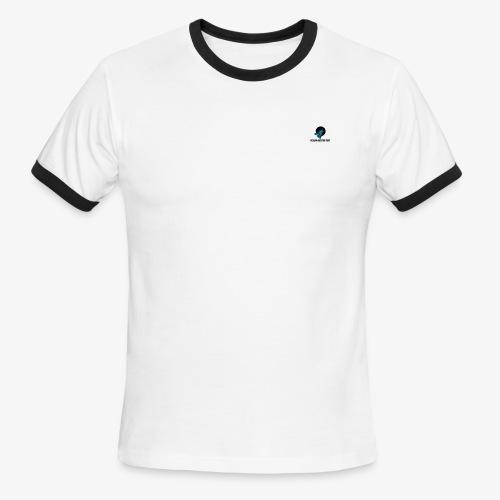 YTLogan Fletcher Rebo Wolf - Men's Ringer T-Shirt