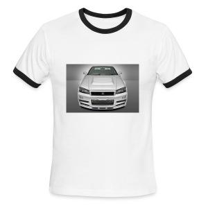 GTR-R34 - Men's Ringer T-Shirt