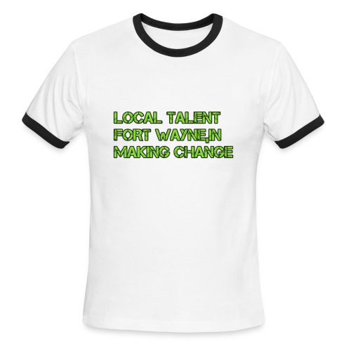 LOCAL TALENT LIMITED EDITION - Men's Ringer T-Shirt