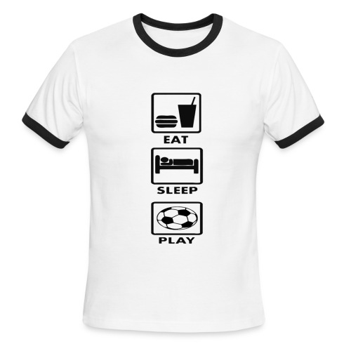 Football - Men's Ringer T-Shirt