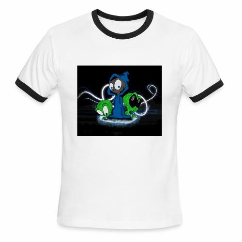 Alien Face - Men's Ringer T-Shirt