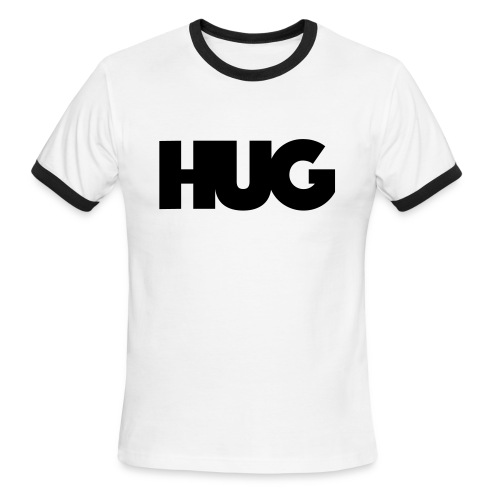 HUG Center (Founder Set) - Men's Ringer T-Shirt