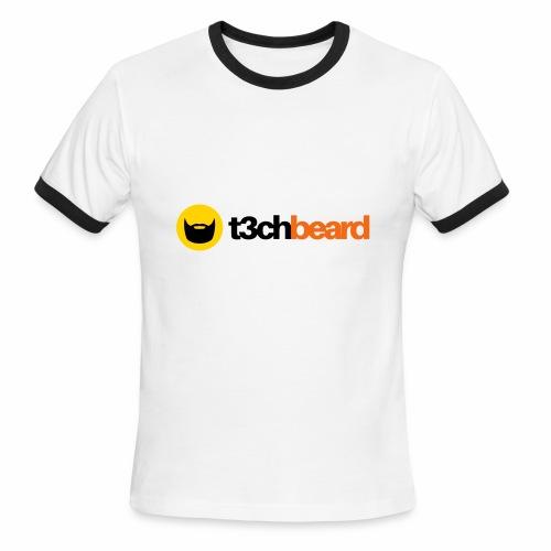t3chBeard - Men's Ringer T-Shirt