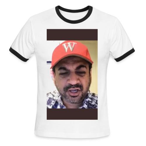 MASTER NAVI - Men's Ringer T-Shirt