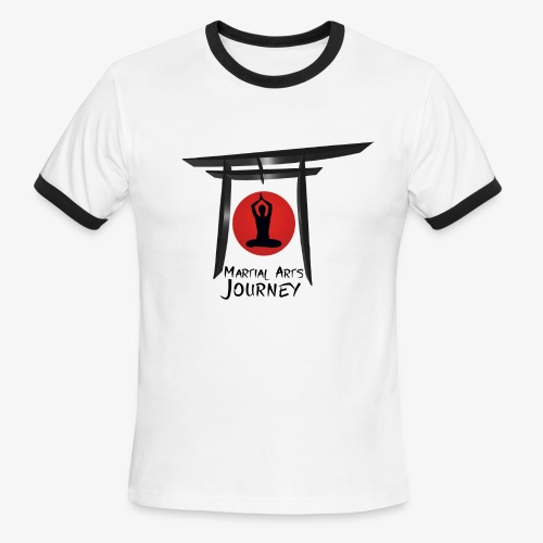 Martial Arts Journey - Men's Ringer T-Shirt
