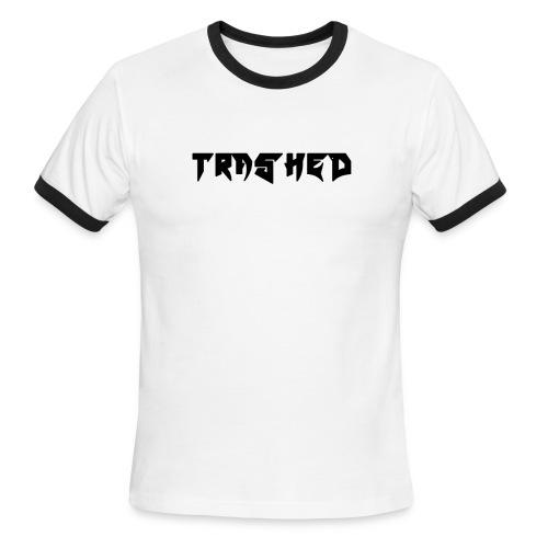 Trashed 1.0 - Men's Ringer T-Shirt