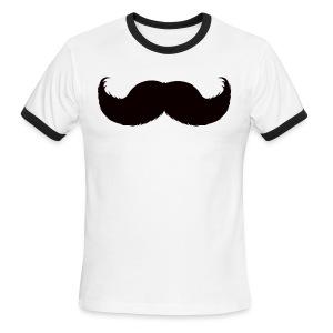 Mustache Tee - Men's Ringer T-Shirt