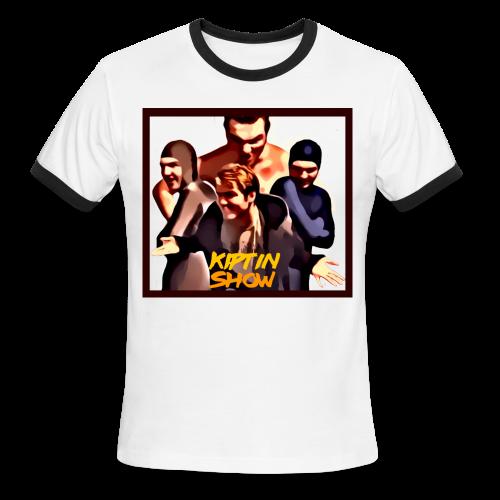 The Kiptin Show - Men's Ringer T-Shirt