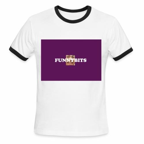 funny bits t - Men's Ringer T-Shirt